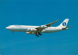 CP - Avion - Vliegtuig - Sabena - Airbus A340-200 - OO-SCX - Autres
