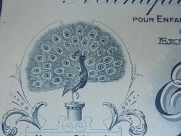 LE PAON - IVRY SUR SEINE, 1935 - MANUFACTURE DE CHAUSSURES, E. RIBET- PLAIGNAUD, 32 RUE DE CHATEAUDUN - ILLUSTREE - Sin Clasificación