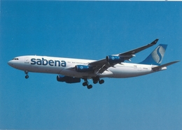 CP - Avion - Vliegtuig - Sabena - Airbus A340-211 - OO-SCW - Aviation
