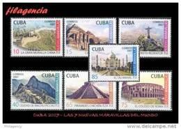 CUBA MINT. 2007-25 LAS SIETE NUEVAS MARAVILLAS DEL MUNDO - Cuba