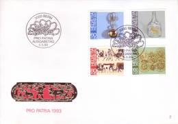 Svizzera 1993 - FDC Pro Patria, Artigianato - Storia Postale