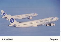 CP - Avion - Vliegtuig - Sabena - Airbus A330/A340 - Aviazione