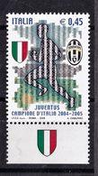 Italy, 2005- Juventus Campione D'Italia 2004-2005. MintNH. - 6. 1946-.. Republic
