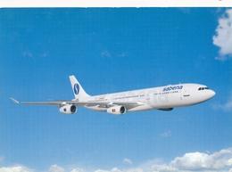 CP - Avion - Vliegtuig - Sabena - Airbus A340 - Aviation