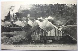 MINES DE LUCETTE - L'USINE , LES ATELIERS - LE GENEST - Le Genest Saint Isle