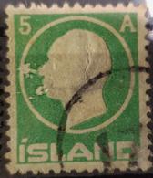 ICELAND 1912 - Canceled - Sc# 92 - 5a - Oblitérés
