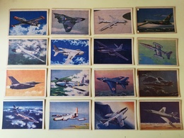 """33 GERMAN VERSION OF THE ENGLISH CARDMASTER """"JET AIRCRAFT OF THE WORLD"""" SERIE. BUBBLE GUM CARDS 1967 - Confectionery & Biscuits"""