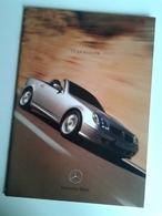 Dep039 Depliant Brochure Advertising Mercedes Benz SLK Roadster Auto Car Voiture Design - Automobili