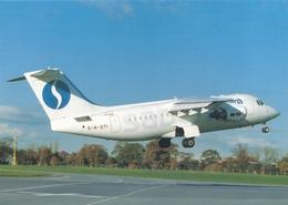 CP - Avion - Vliegtuig - Sabena - Avro RJ85 - OO-DJK - Aviation