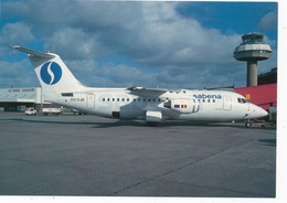 CP - Avion - Vliegtuig - Sabena - Avro RJ85 - OO-DJN - Aviation