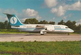 CP - Avion - Vliegtuig - Sabena - Avro RJ85 - OO-DJD - Aviation