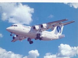 CP - Avion - Vliegtuig - Sabena - Avro RJ85 - OO-DJR - Aviation