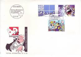 Svizzera 1992 - FDC Fumetti - FDC