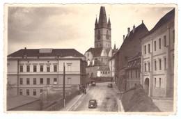ROUMANIE Romania Sibiu Nagyszeben Hermannstadt Cenzurat Foto Fischer - Rumänien