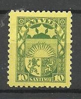 LETTLAND Latvia 1932 Michel 174 X * - Lettland