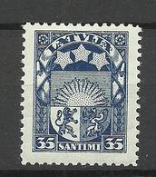 LETTLAND Latvia 1931 Michel 175 * - Lettland