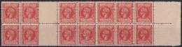 1898-253 CUBA SPAIN. ALFONSO XIII. 1898 Ed.166. 10c GUTTER PAIR BLOCK 4 GOMA ORIGINAL. - Cuba