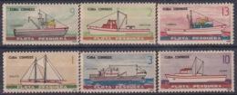 1965.130 CUBA 1965. Ed.1165-70. FLOTA PESQUERA. FISHING SHIP. LIGERAS MANCHAS - Cuba