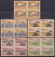 1965.131 CUBA 1965. Ed.1214-18. MUSEO DE LA REVOLUCION. LIGERAS MANCHAS. - Cuba