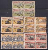 1965.134 CUBA 1965. Ed.1214-18. MUSEO DE LA REVOLUCION. LIGERAS MANCHAS. - Cuba