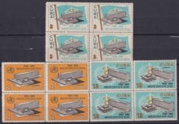1966.128 CUBA 1966. Ed.1339-41. MNH. NUEVO EDIFICIO DE LA OMS, MEDICINE, MEDICINA. BLOCK 4. - Cuba