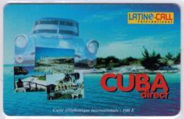 LATINO CALL - Cuba Direct - 100 F  - Rare - Voir Scans - France