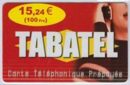 TABATEL - 15,24 € - 100 Frs - Voir Scans - France