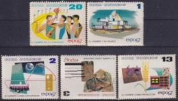 1967.82 CUBA 1967. Ed.1459-63. MNH. EXPO MONTREAL'67. CANADA. - Cuba
