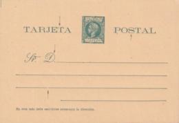 1898-EP-99 CUBA SPAIN. ALFONSO XIII. AUTONOMIA. 1c POSTAL STATIONERY, POSICIONES MARCADAS. - Cuba