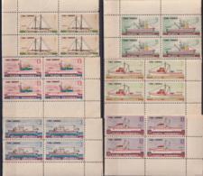 1965.135 CUBA 1965. Ed.1165-70. FLOTA PESQUERA. FISHING SHIP. BLOCK 4. MANCHAS. - Cuba