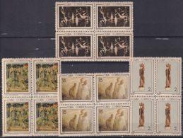 1965.144 CUBA 1965. Ed.1177-80. OBRAS DE ARTE MUSEO NACIONAL, LAM, VICTOR MANUEL, PONCE, LIGERAS MANCHAS BLOCK 4 - Cuba