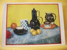 B21 5047 CPSM GM - VINCENT VAN GOGH (1853-1890). THE BREAKFAST TABLE. COLLECTION PAUL ROSENBERG, NEW YORK. - Peintures & Tableaux