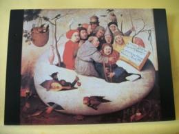B21 5075 CPM - MUSEE DES BEAUX ARTS DE LILLE. HIERONYMUS BOSCH (V. 1450-1516) D'APRES LE CONCERT DANS L'OEUF. - Pittura & Quadri