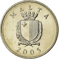 Monnaie, Malte, 10 Cents, 2005, SUP, Copper-nickel, KM:96 - Malta