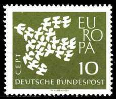 BRD 1961 Nr 367xw Postfrisch S032C82 - [7] Federal Republic