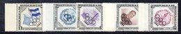 ETP392B - HONDURAS 1964 , Posta Aerea Serie N. 307/311  ***  MNH . Olimpiadi Tokyo - Honduras