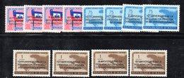 ETP403 - HAITI 1958 , Posta Aerea Serie N. 146/157  ***  MNH . Dichiarazione Uomo - Haiti