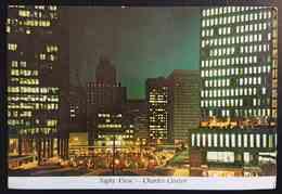 BALTIMORE, MARYLAND - CHARLES CENTER - Night View   - Vg - Baltimore