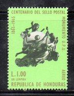 APR696 - HONDURAS 1966 , Yvert 1 Lem N. 377  ***  MNH .  UPU - Honduras