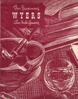Slijterij H. C. Wyers & Co. Vriesestraat 32 - Dordrecht (Pays-Bas) - Prijscourant Vor Particulieren - December 1955 - Cuisine & Vins