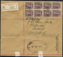 PAPUA NEW GUINEA- MONEY ORDER OFFICE Rabaul-R-Cover BUIN 12.07.1949 - 121 - Papua Nuova Guinea