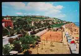 GROTTAMMARE (Ascoli) - LUNGOMARE - Campo Da Tennis  - Vg - Ascoli Piceno