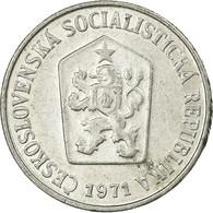 Monnaie, Tchécoslovaquie, 10 Haleru, 1971, TTB, Aluminium, KM:49.1 - Tchécoslovaquie