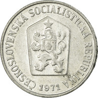 Monnaie, Tchécoslovaquie, 10 Haleru, 1971, TTB, Aluminium, KM:49.1 - Tschechoslowakei