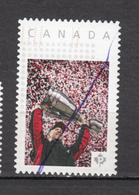 #18, Canada, Coupe Grey, Football, Timbre Personnalisé, Personalized Stamp - Oblitérés