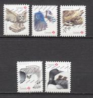 #18, Canada, Série Complète, Complete Set, Oiseau, Bird - Oblitérés