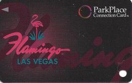 Flamingo Casino Las Vegas, NV - Slot Card - Park Place - No Mfg Mark Over Mag  (BLANK) - Casino Cards