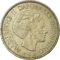 Monnaie, Danemark, Margrethe II, Krone, 1984, Copenhagen, TB+, Copper-nickel - Danemark