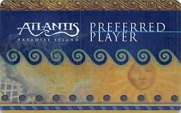 Atlantis Casino Paradise Island Bahamas BLANK Slot Card .....[FSC]..... - Casino Cards