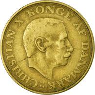 Monnaie, Danemark, Christian X, Krone, 1947, Copenhagen, TB+, Aluminum-Bronze - Danemark